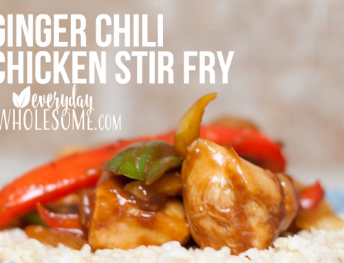GINGER CHILI CHICKEN STIR FRY