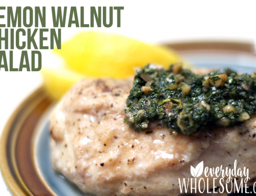 LEMON WALNUT CHICKEN [SALAD]